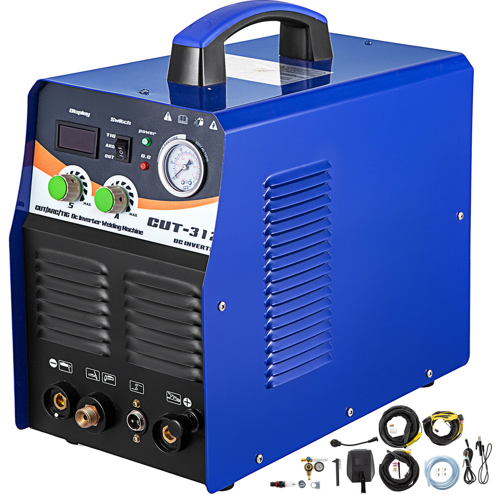 Plasma Cutter Tig Welder CT312 TIG MMA 3 In 1 Non-Touch Pilot Arc Torch 110/220V. Buy it now for 260.97