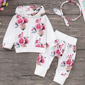 3pcs-Newborn-Baby-Girls-Hooded-Tops-Pants-Headband-Outfits-Set-Clothes-Tracksuit