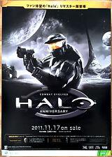 Halo Combat Evolved RARE XBOX 360 ONE 51.5 cm x 73 cm Japanese Promo Poster