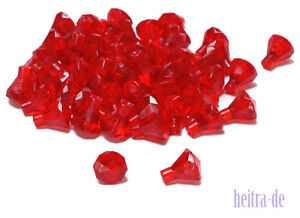 LEGO-50-x-Diamant-transparent-rot-Trans-Red-Jewel-30153-NEUWARE