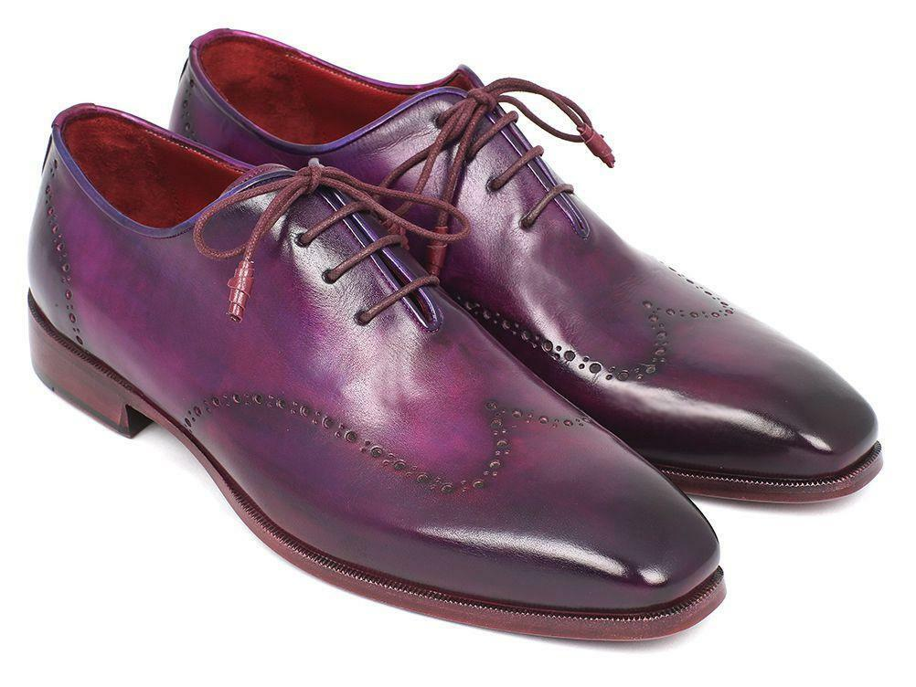 prima i clienti Paul Parkman Uomo viola Wingtip Oxfords Oxfords Oxfords (ID 84HT12)  confortevole