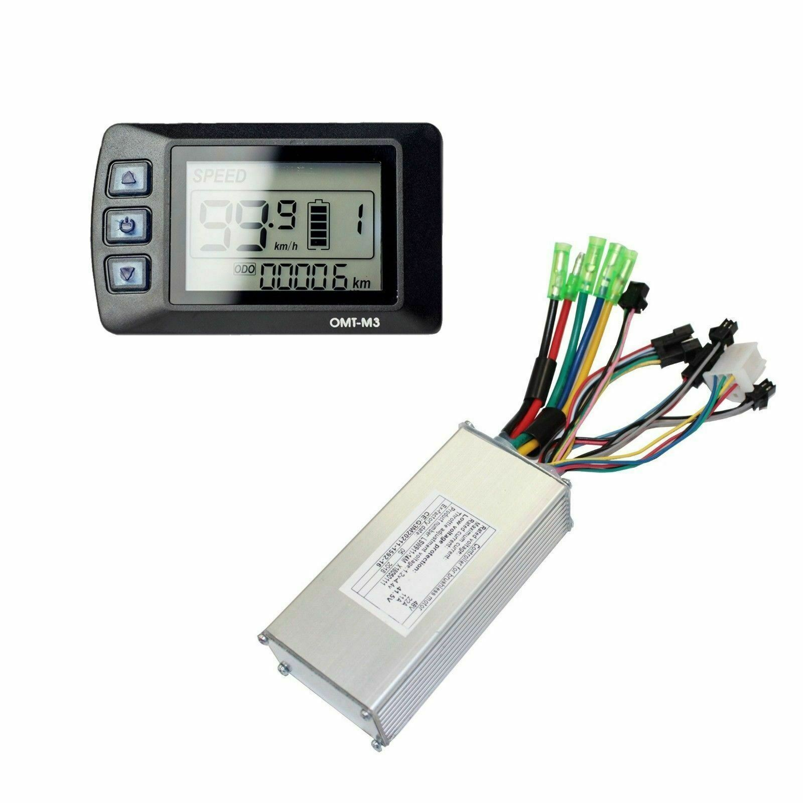 48V 1000W Electric Bicycle Ebike motor Intelligent Controller + LCD Panel