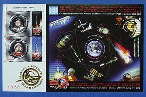 Rumanien-Romania-2011-Raumfahrt-Space-Gagarin-Prunariu-Block-504-MNH-A-1000