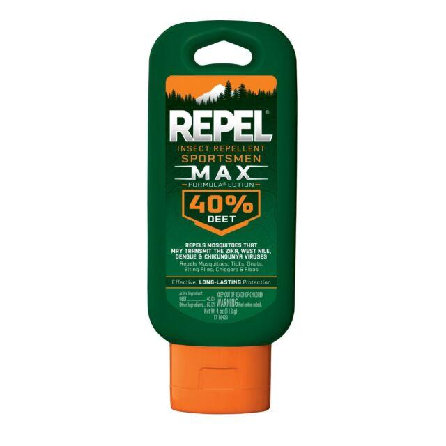 Repel Sportmens Max 40 Insect Repellent Repel Hg94079 For Sale