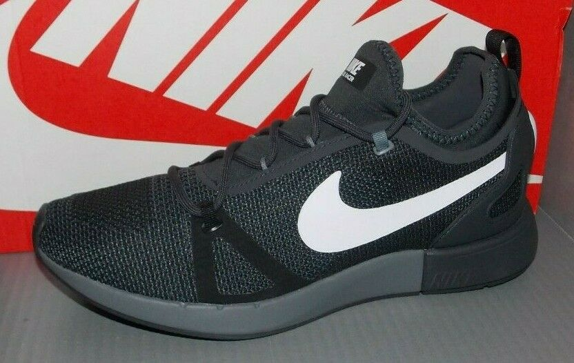 MENS NIKE DUEL RACER in colors BLACK   WHITE   ANTHRACITE SIZE 10