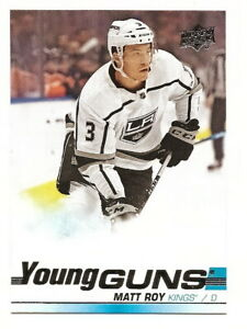 2019-20-UPPER-DECK-SERIES-1-MATT-ROY-YOUNG-GUNS-ROOKIE-CARD-235-LA-KINGS