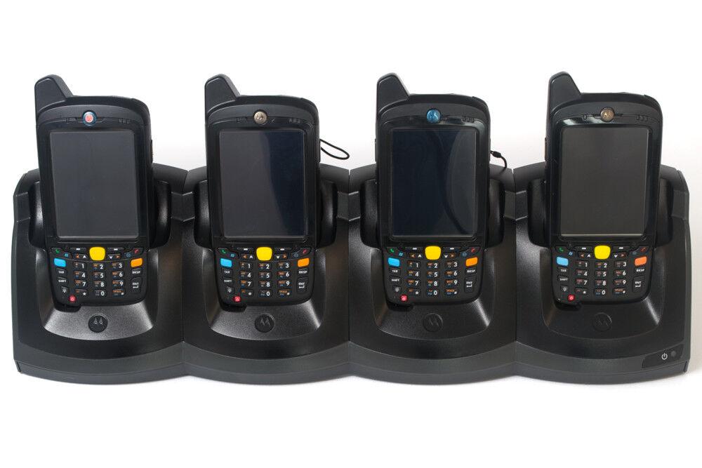 Set of 4 Motgoldla PDA MC67 HSPA +802.11 with PSU I 1 Year Warranty I Inc VAT&DEL