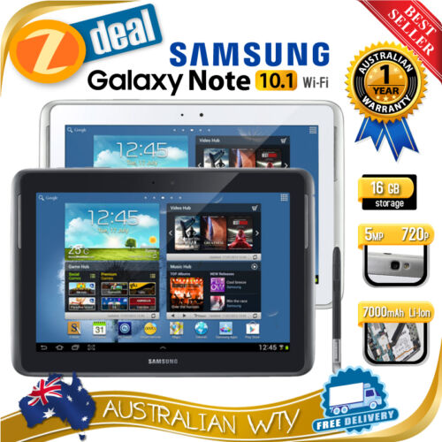 1 of 1 - (NEW SEALED BOX) SAMSUNG GALAXY NOTE 10.1 16GB N8010 TABLET + 12MTH AUS WTY