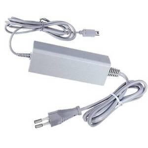 Wii-U-Gamepad-Controller-Stromkabel-AC-Adapter-Netzteil-Trafo-Ladekabel