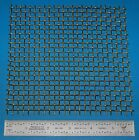 "Brass 4-Mesh (4760 micron), .047"" (1.19mm) Wire, .203"" Wd, 6x6"""