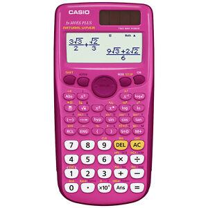 Details about Casio FX-300ES Plus Scientific Calculator in Pink
