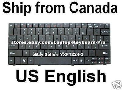 Laptop Keyboard Compatible for Gateway EC14 EC14d EC14D01h EC1440u EC1454u EC1455u EC1456u EC1457u US Layout Black Color