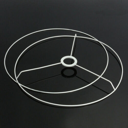 Lampshade E27 Circular Frame Ring Set Lamp Light Shade DIY Kit 11-40 cm