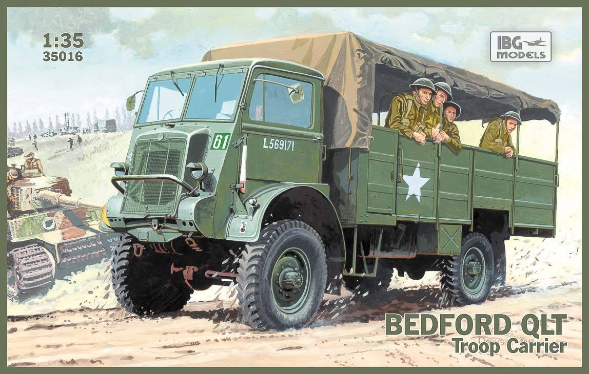 IBG 1 35 35016 WWII British BEDFORD QLT Troop Carrier
