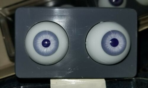 24mm plastic violet eyes