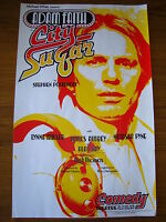 STEPHEN POLIAKOFF / ADAM FAITH : CITY SUGAR  Original London Theatre Poster