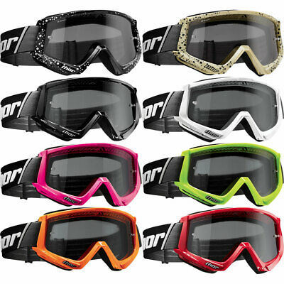 Thor Conquer MX Motocross Off Road Anti-fog Goggles