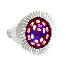 28W E27 Full Spectrum Led Grow Light Growing Lamp Light Bulb For Flower Plant