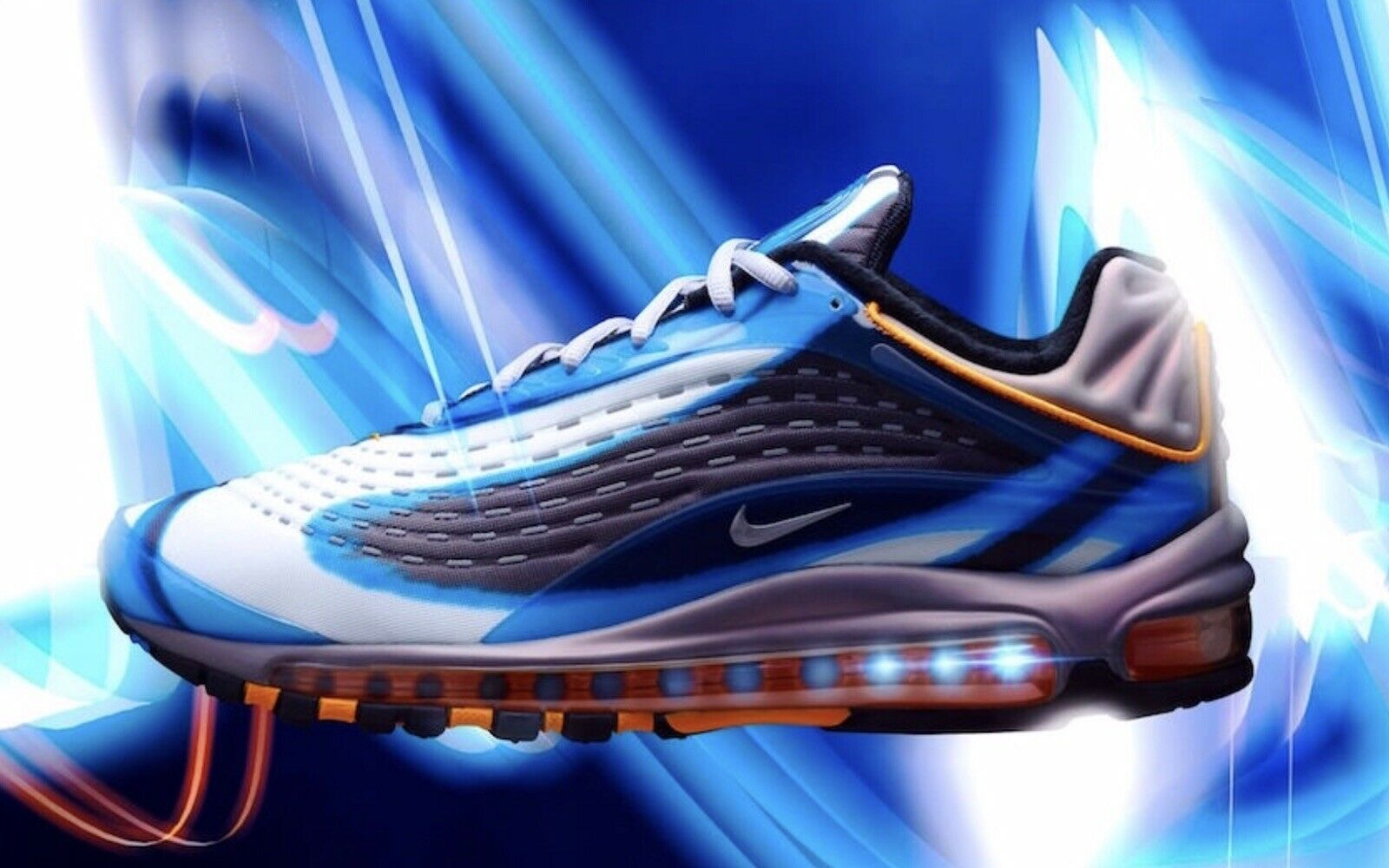 DS MENS NIKE AIR MAX DELUXE PHOTO blueE RUNNING AJ7831 401 SZ 11.5 FREE SHIP