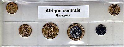 Gekwalificeerd Afrique Centrale Série De 6 Pièces De Monnaie