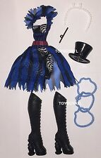 Monster High Freak du Chic Frankie Stein Doll Outfit Clothes Dress & Shoes NEW