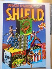 Nick Fury Agent of Shield, Who is Scorpio? by Jim Steranko