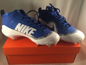 c1cd71599477 BRAND NEW* NIKE FORCE AIR TROUT 4 PRO BASEBALL CLEATS ROYAL BLUE ...