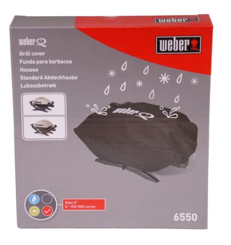 Serie Schutzhülle Hülle Grill 6550 Weber Abdeckhaube Standard für Q 100-// 1000