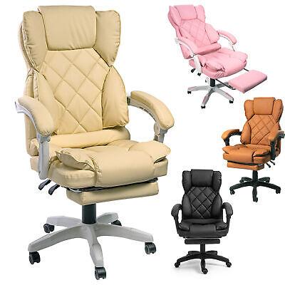 Schreibtischstuhl | Design Bürostuhl TV Sessel Chefsessel Relax & Home Office | eBay