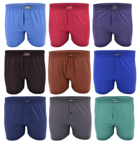 3-12 Pack Baumwolle Boxershorts Unterhosen Retroshorts Herren Unterwäsche Boxer