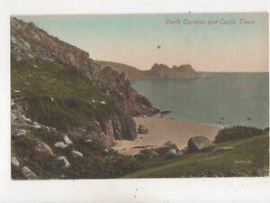 Porth Curnow amp Castle Treen Cornwall Vintage Postcard 484b - Aberystwyth, United Kingdom - Porth Curnow amp Castle Treen Cornwall Vintage Postcard 484b - Aberystwyth, United Kingdom