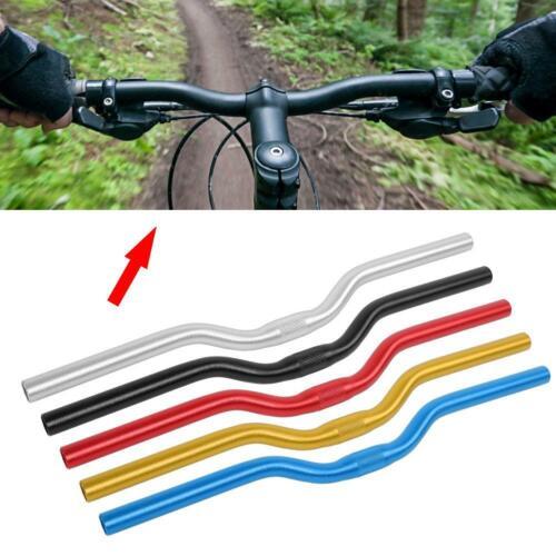 Mountain Bicycle Handlebar Bike Fixed Gear Riser Bar 25.4mm*520mm Aluminum New