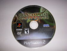 PS2, Phantasy Star Universe Video Game, Used, No Case!