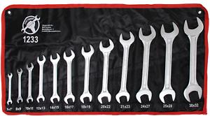 BGS 24 Größen Doppel Maulschlüssel 6-32mm Schraubenschlüssel Gabelschlüssel Satz