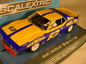 Scalextric-AMC-Javelin-63-Bill-Collins-Trans-Am-1972-C3876-MB-DPR