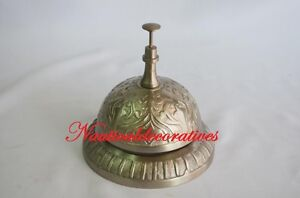 Image Is Loading Victorian Desk Bell Reception Hotel Table Hallway Call