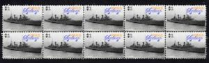 WWII-AUSTRALIAN-HMAS-SYDNEY-STRIP-OF-10-MINT-VIGNETTE-STAMPS-1