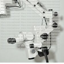 Five Step Ceiling Mount Surgical Operating Microscope Dental Manual Focusing 5oi
