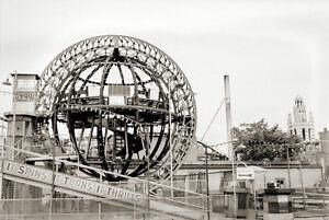 Rare New York City CONEY ISLAND Cyclone Gyro Ride Original Photo Negatives
