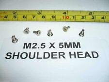 12x Silver Laptop Screen Bezel Shoulder Screws M2.5x5L Dell M1710 M90