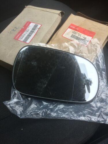 New Genuine Honda Accord 99-02 R//H Door mirror lense 76203-S1A-E20