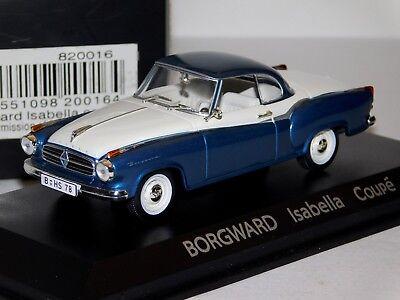 Norev 820016 Borgward Isabella coupe 1:43