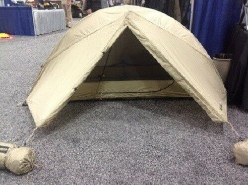 Litefighter Full Spectrum Military 1-One Man Combat Shelter Tent Coyote Coyote Tent Tan  1 bb8392