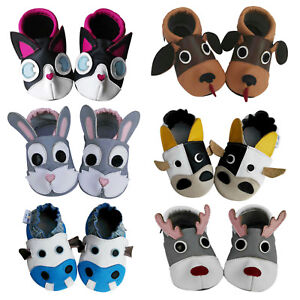 Soft-sole-baby-toddler-infant-child-kids-boys-girls-3D-baby-shoes-booties-0-2Y