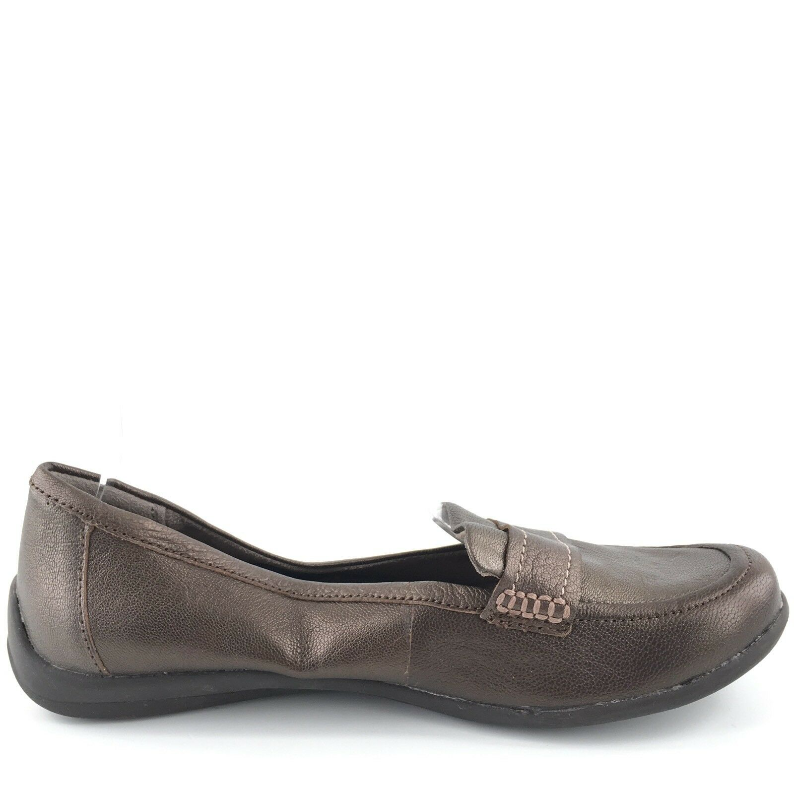Naturalizer Denise Comfort Nickel Metallic Casual Comfort Denise Loafers Donna's Size 9 M 19bfb3