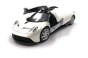 Modellino-Auto-Paganai-Huayra-Hypercar-Bianco-Auto-Scala-1-3-4-39-Licenza
