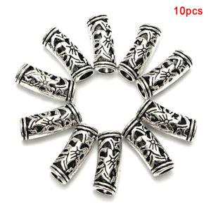 10Pcs-Alloy-Dreadlock-Hair-Beads-Dread-Braid-Pins-Rings-Tube-Clips-Cuff-Jewe-Gw