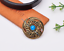 10X-Western-3D-Flower-Turquoise-Conchos-For-Leather-Craft-Bag-Belt-Purse-Decor miniature 58