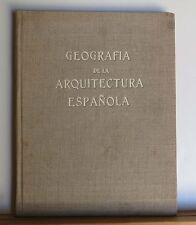 Geografia de la Arquitectura Espanola 1957 Almech Spain Spanish Architecture