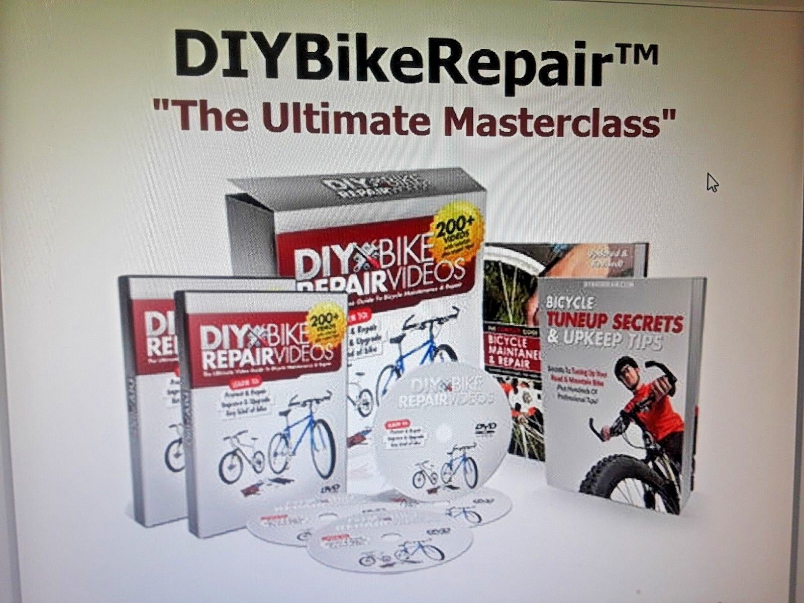 The Ultimate Video Guide to Bicycle Maintenance and Repairs...Over 200  Videos   online-shop